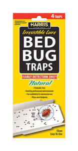 Harris  Bed Bug Traps  4 pk