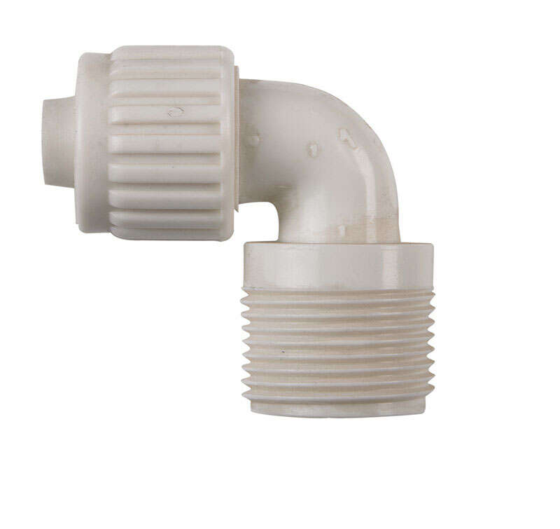 Flair-It 1/2 in. PEX x 3/4 in. Dia. MPT PVC Elbow