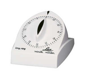 Lux  Mute Mder  Mechanical  Plastic  Kitchen Timer