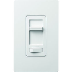 Lutron  Lumea  White  150W for CFL and LED / 600W for incandescent and halogen watts 3-Way  Dimmer S