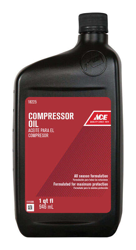 Ace  Compressor Oil  32 oz. Bottle