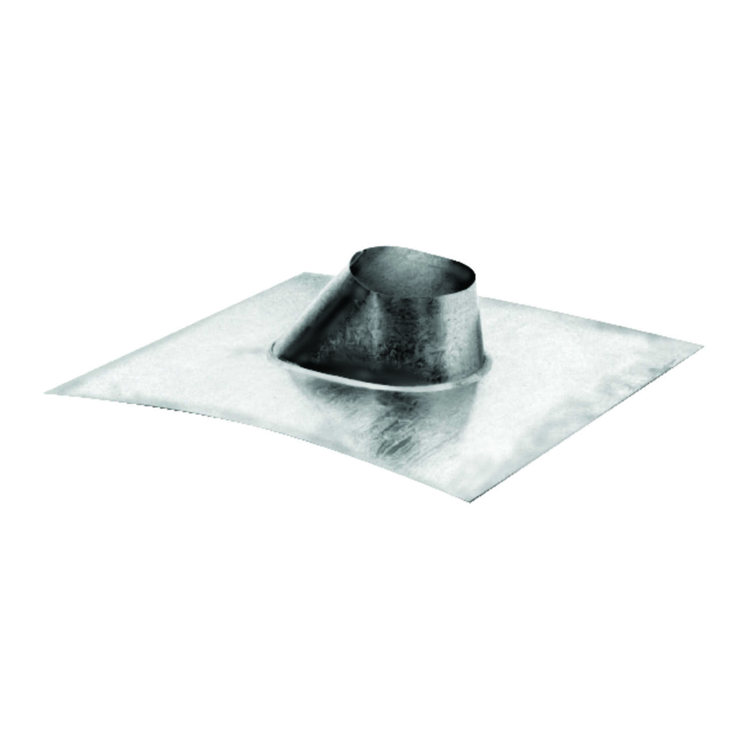 DuraVent  4-1/4 in. H x 17 in. W x 12 in. L Silver  Galvanized Steel  Square  Roof Flashing