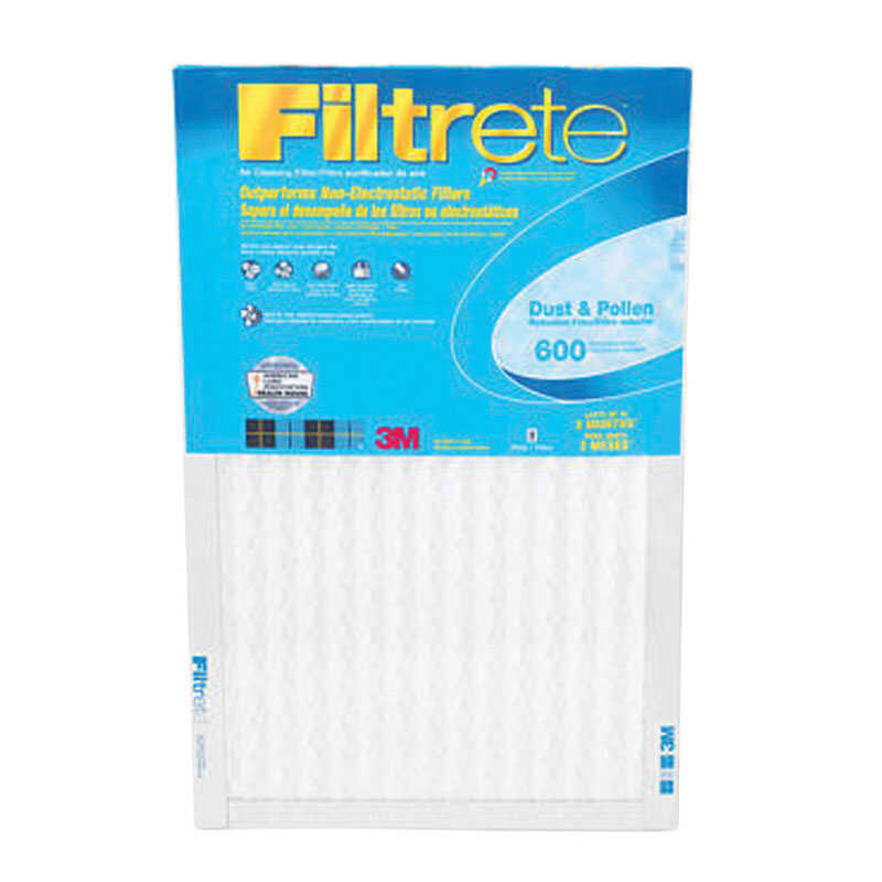3M  Filtrete  20 in. H x 14 in. W Air Filter