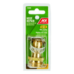 Ace  5/8 Hose Barb x 3/4 MHT in. Brass  Threaded  Male  Hose Repair