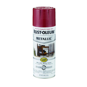 Rust-Oleum  Stops Rust  Apple Red  Spray Paint  11 oz.