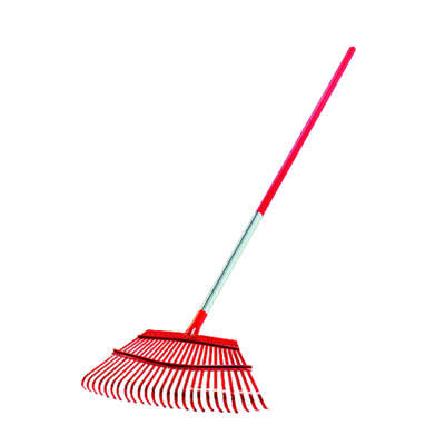 Corona 63 in. L x 19 in. W Steel Leaf Rake Aluminum Handle