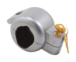 Prime-Line  Metal  Indoor and Outdoor  Door Knob Lock-Out