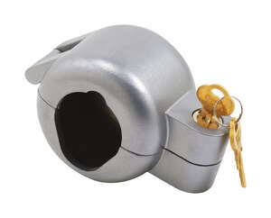 Prime-Line  Door Knob Lock-Out  Indoor and Outdoor  Metal