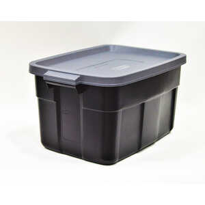 Rubbermaid  Roughneck  12.2 in. H x 23.875 in. D x 15.9 in. W Stackable Storage Box