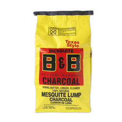 B&B Charcoal All Natural Mesquite Lump Charcoal 8 lb.