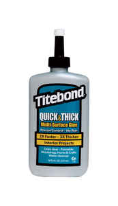 Titebond  Quick & Thick  High Strength  Liquid  Multi-Surface Glue  8 oz.