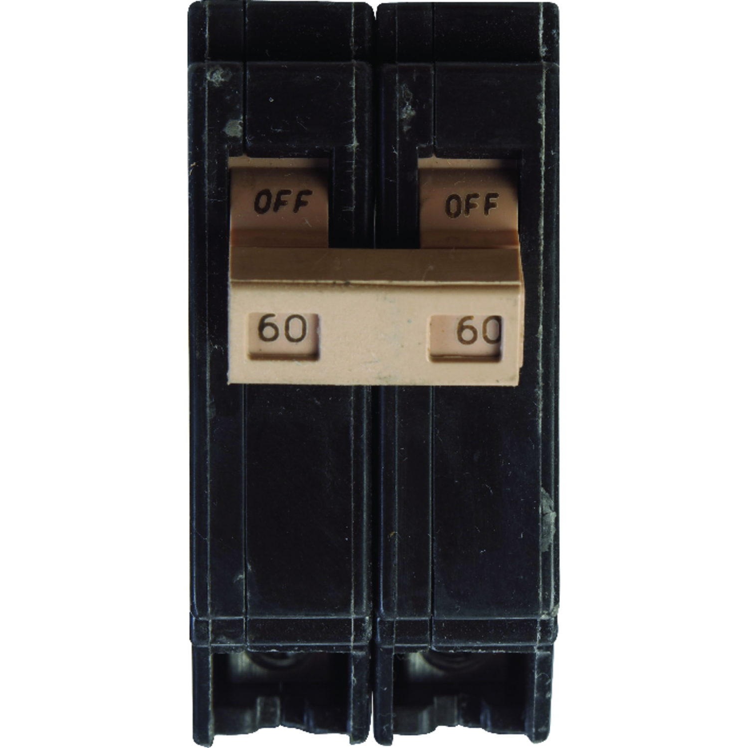 Eaton  60 amps Plug In  2-Pole  Circuit Breaker