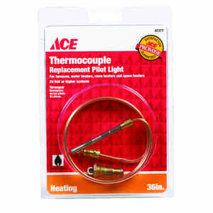 Ace  36 in. L 24 volt Universal Thermocouple