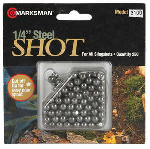 Marksman  1/4 in. Slingshot Ammunition