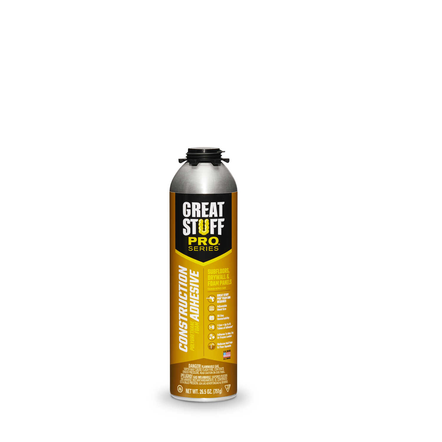 GREAT STUFF  Great Stuff Pro  High Strength  Industrial Grade Adhesive  26.5 oz.