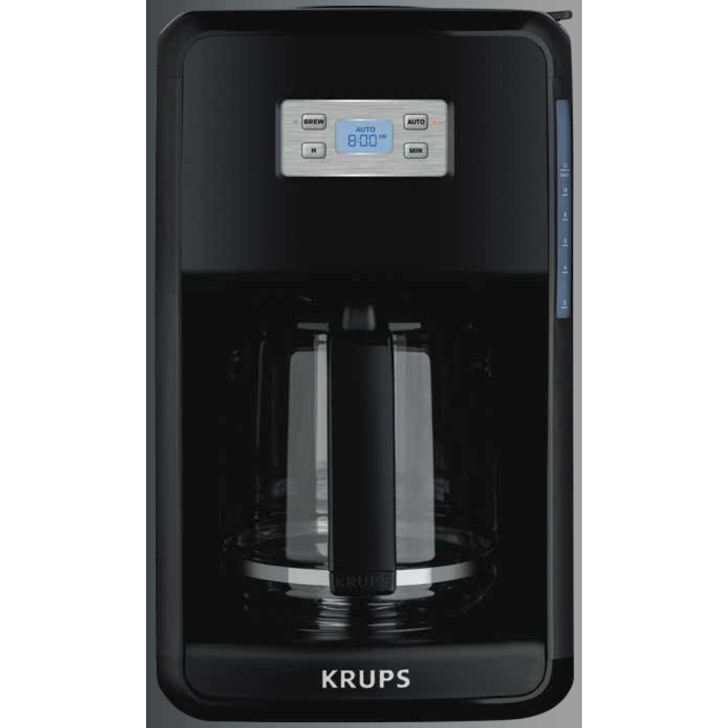 Krups  Savoy  12 cups Coffee Maker  Black