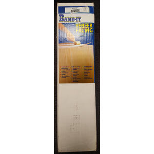 Band It  24 in. W x 48 in. L Prefinished  White Birch  Wood Veneer Facing