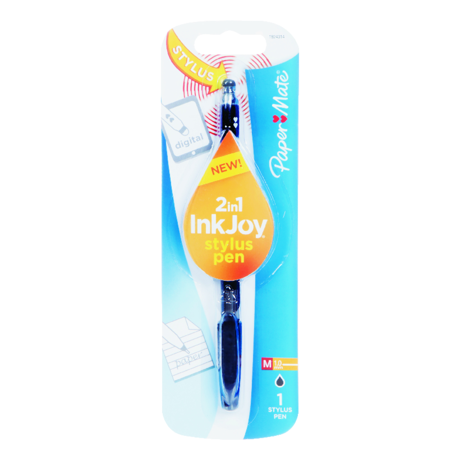 Sanford  InkJoy  Black  Ball Point Pen  1 pk
