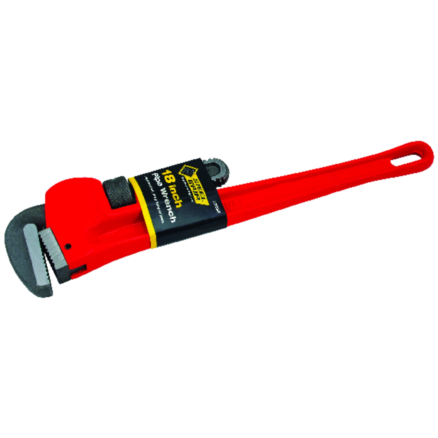Steel Grip  Pipe Wrench  18 in. Cast Iron  1 pc.