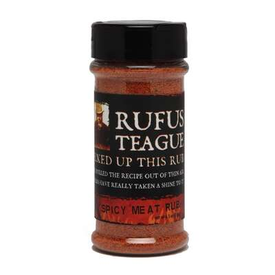 Rufus Teague Spicy Seasoning Rub 6.5 oz.