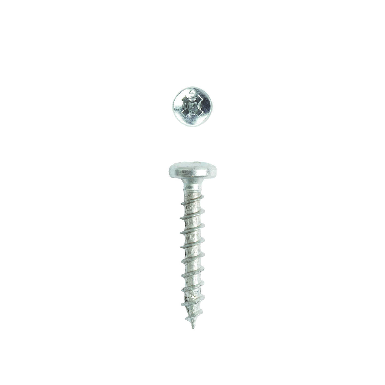SPAX  No. 8   x 1 in. L Phillips/Square  Pan Head Zinc-Plated  Steel  Multi-Purpose Screws  30 pk