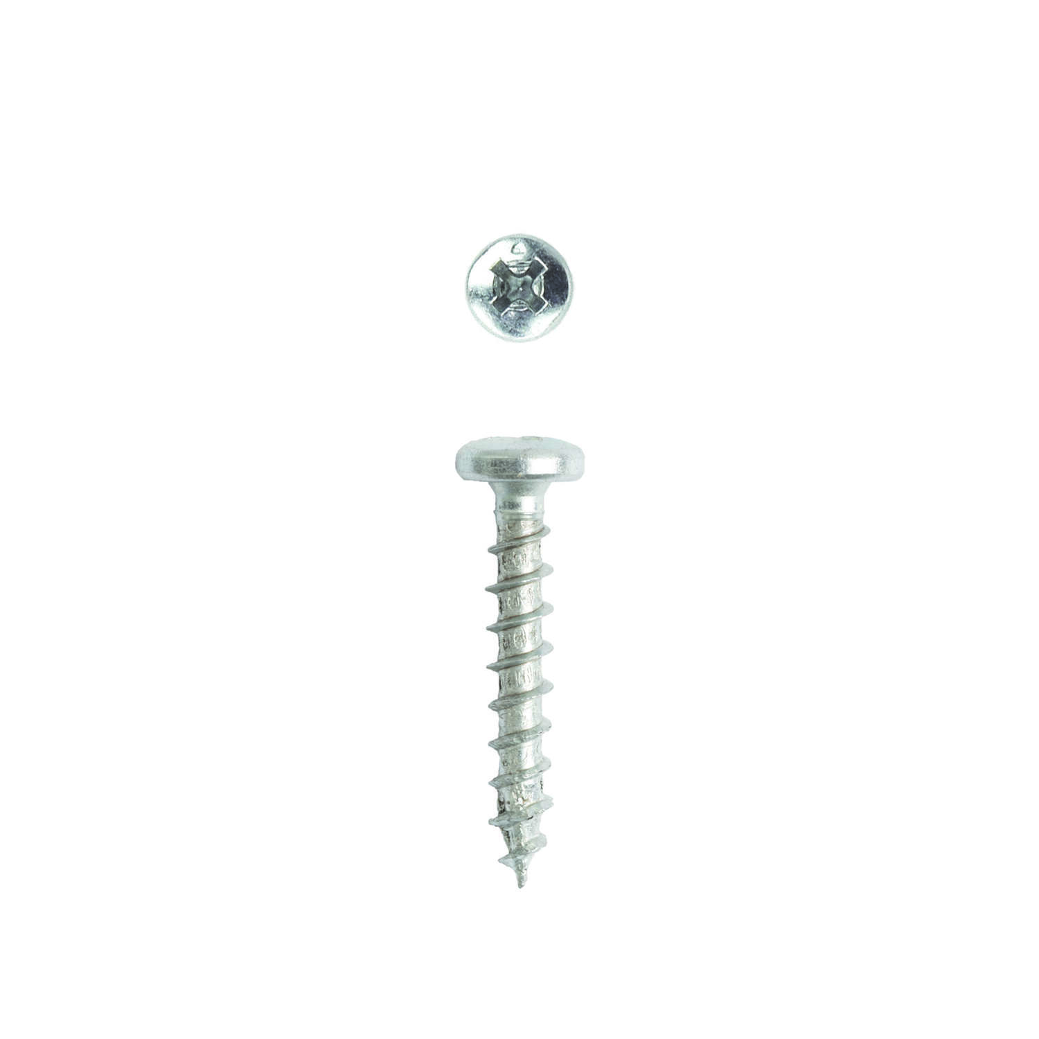 SPAX  No. 8   x 1 in. L Phillips/Square  Pan  Steel  Multi-Purpose Screws  30 pk Zinc-Plated