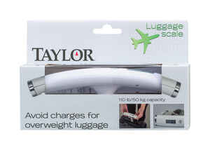 Taylor  White  Luggage Scale