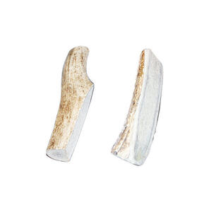 Bucky Bites  Medium, Large  All Ages  Rawhide Sticks  Antler  4 in. L 2 pk