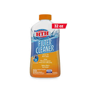 hth  Filter Cleaner  32 oz.