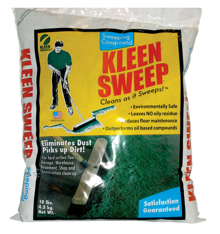 Kleen Sweep+ Sweeping Compound Bagged 10 lb.