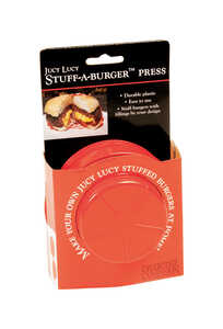 Charcoal Companion  Plastic  Burger Press