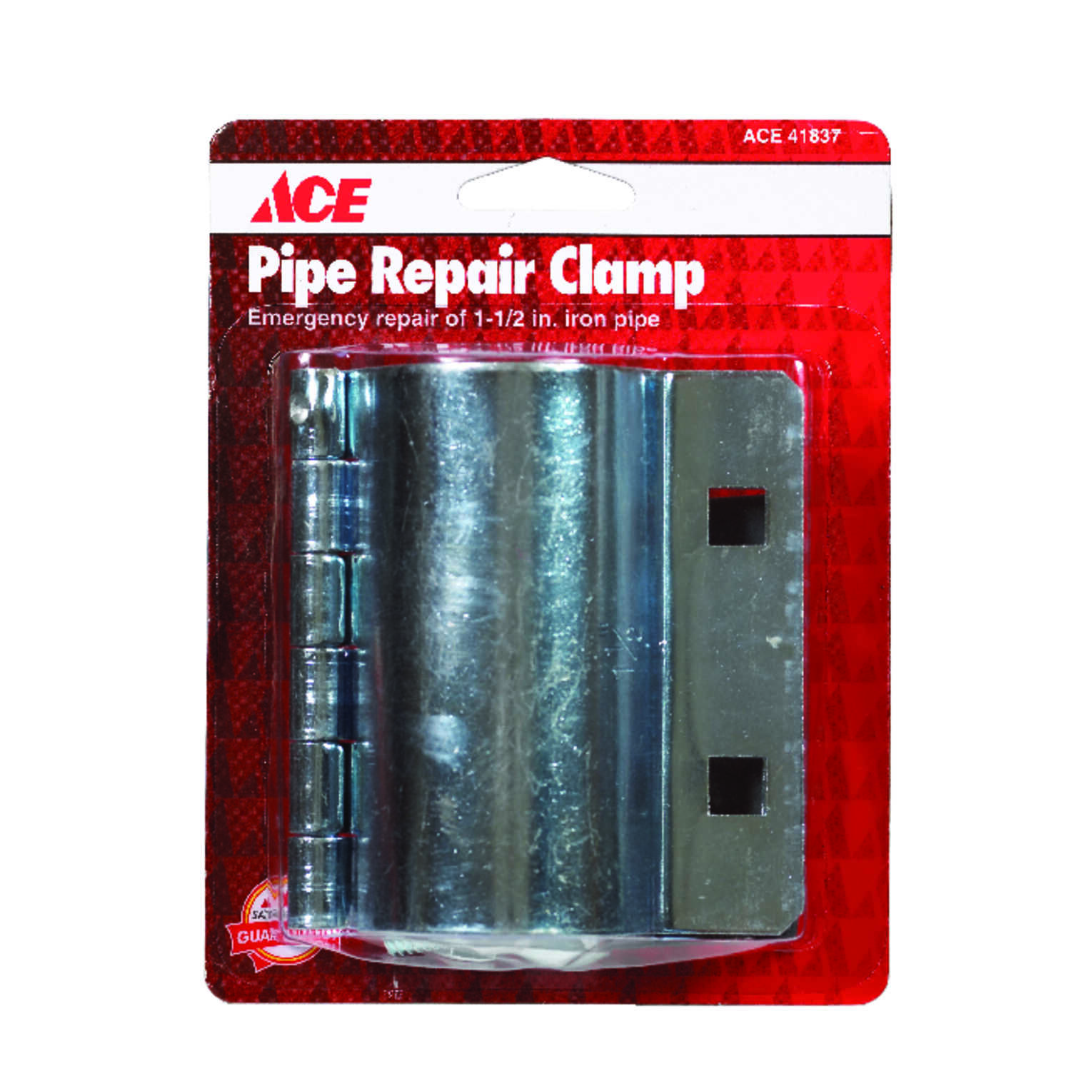 Ace  1-1/2 in. Dia. Pipe Clamps  Steel