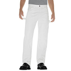 Dickies  Men's  Painter's Pants  36x32  White