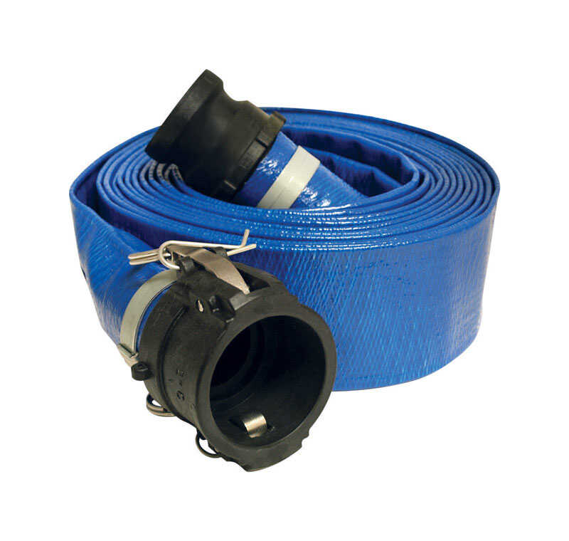 Apache  2 in. Dia. x 25 ft. L 70 psi PVC  Liquid Transfer Hose