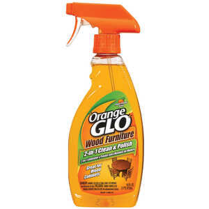 Orange Glo  Orange Scent Wood Cleaner and Polish  16 oz. Liquid