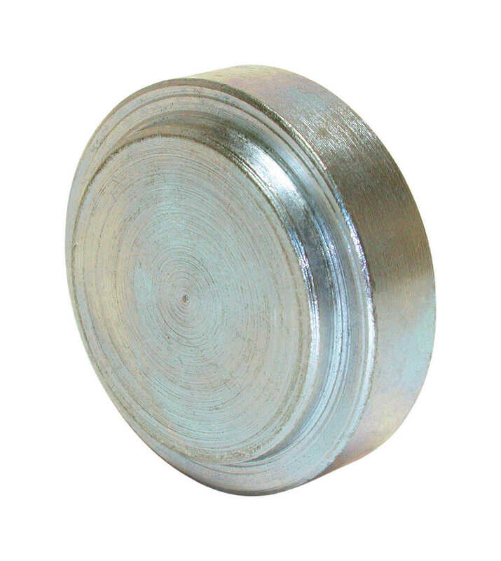 Dial  1 in. H x 1 in. W Silver  Blower Shaft Plug  Steel