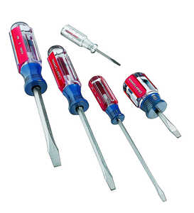 Craftsman  5 pc. Screwdriver Set  8 in. Steel