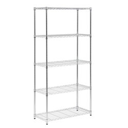 Honey Can Do  72 in. H x 36 in. W x 16 in. D Steel  Shelving Unit