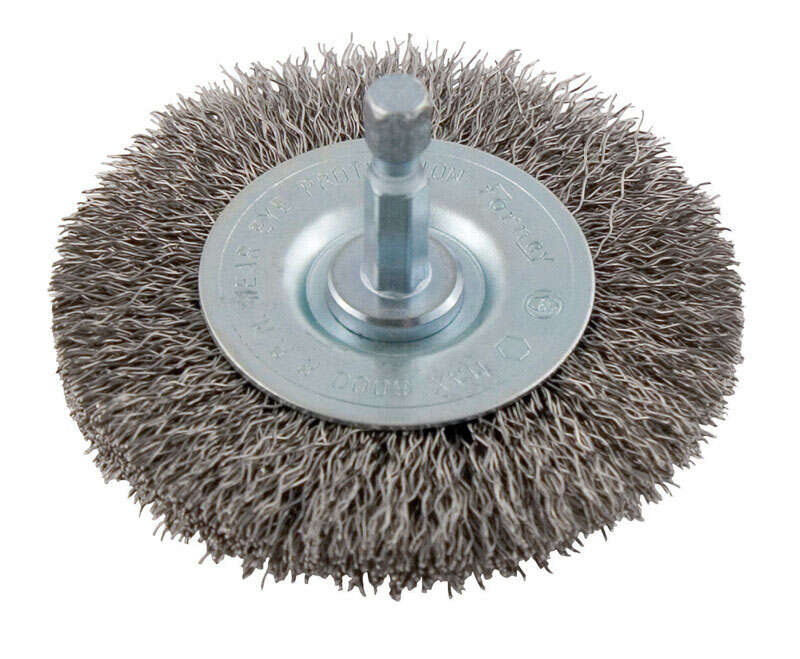 Forney 2-1/2 in. Crimped Wire Wheel Brush Metal 6000 rpm 1 pc.