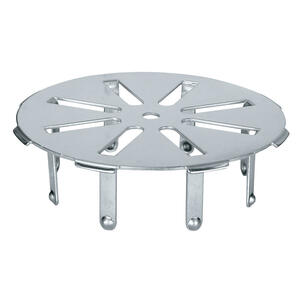 Sioux Chief  Gripper  2 in. Chrome  Stainless Steel  Round  Floor Drain Cover