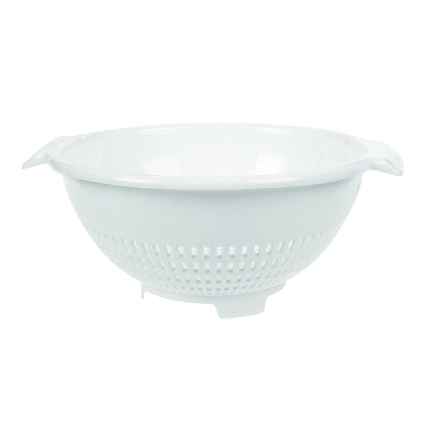 Arrow Home Products  10.5 in. W White  Colander