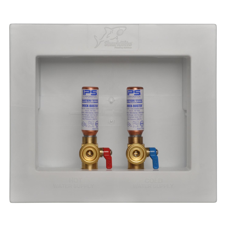 SharkBite 1/2 3/4 Washing Machine Outlet Box  sc 1 st  Ace Hardware & Fittings - Electrical Boxes Conduit u0026 Fittings - Ace Hardware