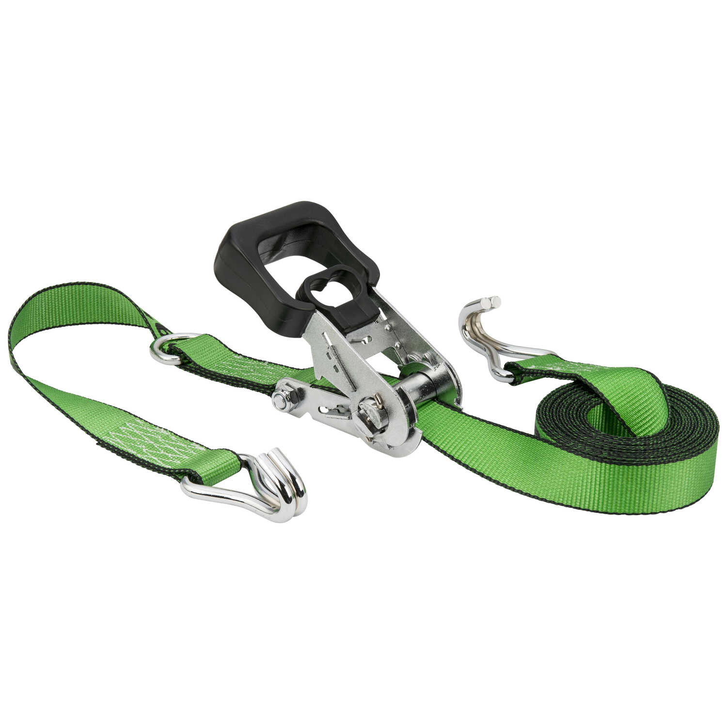 Keeper  1.5 in. W x 16 ft. L Green  Tie Down Strap  1666 lb. 1 pk