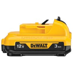 DeWalt 12V MAX 12 volt 3 Ah Lithium-Ion Battery Pack 1 pc.