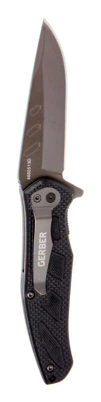 Gerber  Counterpart  Black  Stainless Steel  7.13 in. Knife