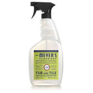 Mrs. Meyer's  Lemon Verbena Scent Tub and Tile Cleaner  33 oz. Trigger Spray Bottle