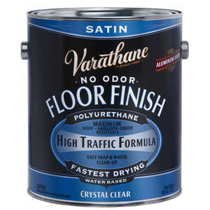 Varathane  Crystal Clear Floor Finish  Floor Finish  Clear  1 gal.
