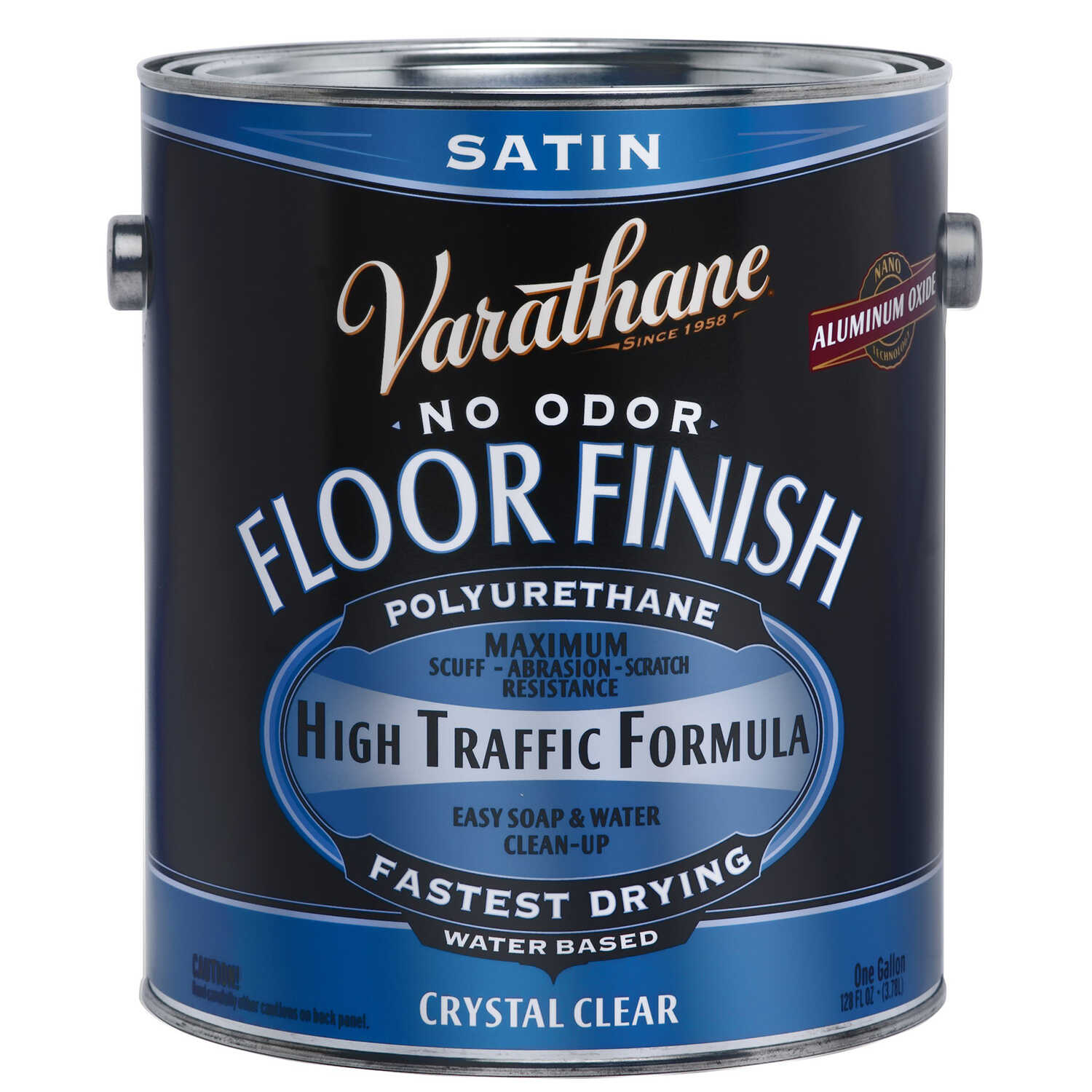 Varathane  Crystal Clear  Floor Finish  1 gal.