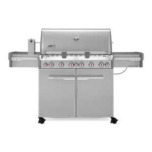 Weber  Summit S-670  6 burners Propane  Stainless Steel  Grill  60000 BTU