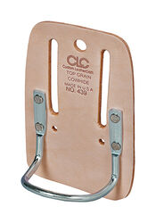 CLC  Leather  Hammer Holder  3.9 in. L x 5.8 in. H Tan